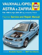 Vauxhall Opel Astra and Zafira Petrol: 98-04