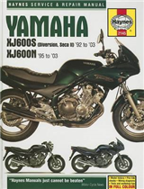 Yamaha XJ600S and XJ600N Service and Repair Manual: 1992 to 2003