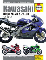 Kawasaki ZX-7R and ZX-9R Service and Repair Manual: 1994 to 2004