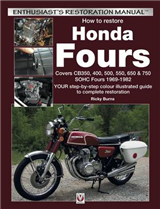 Honda Fours: Enthusiast\'s Restoration Manual