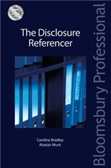 The Disclosure Referencer