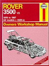 Rover 3500 V8 1976-87 Owner\'s Workshop Manual