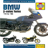 BMW 2-Valve Twins \'70 to \'96 Service Manual