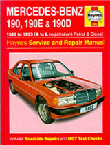 Mercedes-Benz 190, 190E and 190D (83-93) Service and Repair Manual