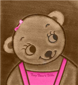Tiny Bear Bible: Pink