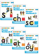 Phonics Workbooks 1-6