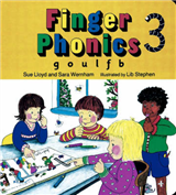 Finger Phonics Book3: g, o, u, l, f, b