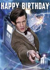 Happy Birthday - Doctor Who - Clockworld World