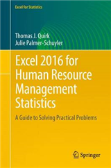 Excel 2016 for Human Resource Management Statistics: A Guide to Solving Practical Problems