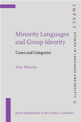Minority Languages and Group Identity: Cases and Categories