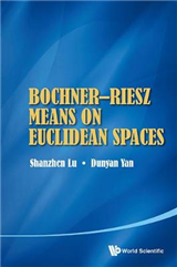 Bochner-riesz Means On Euclidean Spaces