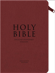 Holy Bible: English Standard Version (ESV) Anglicised Chestnut Compact Gift Edition with Zip