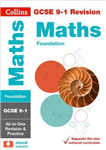 GCSE 9-1 Maths Foundation All-in-One Revision and Practice