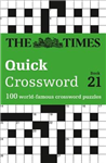 Times Quick Crossword Book 21