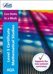 AQA Level 3 Certificate Mathematical Studies: In a Week