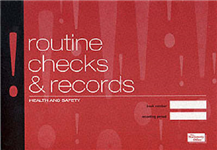Health & Safety: Routine Checks and Records: The Incident Book