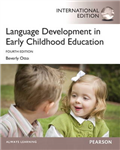 Language Development in Early Childhood Education: International Edition