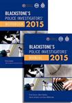 Blackstone's Police Investigators' Manual and Workbook 2015