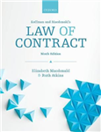 Koffman & Macdonald\'s Law of Contract