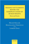 Friendly Settlements before the European Court of Human Rights: Theory and Practice