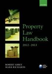 Property Law Handbook: 2012-2013