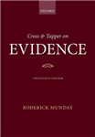 Cross & Tapper on Evidence