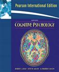 Cognitive Psychology: International Edition