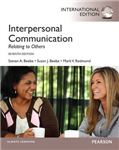 Interpersonal Communication: Relating to Others: International Edition