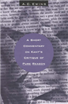 A Short Commentary on Kant\'s