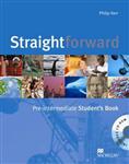 Straightforward Pre-Intermediate Student Book & CD-Rom Pack