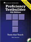 Proficiency Testbuilder 2013 Student\'s Book +key Pack
