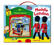 Muddle London: A Magnetic Play Book!