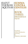 Summa Contra Gentiles: v. 4: Providence, Part II