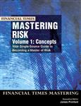 Mastering Risk Volume 1: Concepts