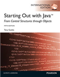 Starting Out with Java:From Control Structures through Objects with MyProgrammingLab: International Edition