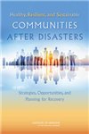 Healthy, Resilient, and Sustainable Communities After Disast