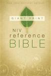 NIV, Reference Bible, Giant Print, Paperback