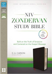 NIV Zondervan Study Bible: Built on the Truth of Scripture and Centered on the Gospel Message [Burgundy]