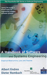 A Handbook of Software and Systems Engineering: Empirical Observations, Laws and Theories