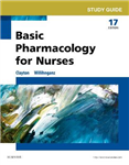 Study Guide for Basic Pharmacology for Nurses