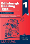 Edinburgh Reading Test (ERT) 1 Manual: A Series of Diagnostic Teaching AIDS