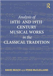 Analysis of 18th- and 19th-Century Musical Works in the Clas