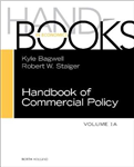 Handbook of Commercial Policy: Volume 1A