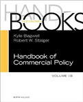 Handbook of Commercial Policy