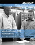 Exam 70-646 Windows Server 2008 Administrator Lab Manual