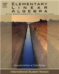 Elementary Linear Algebra with Supplemental Applications