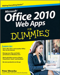 Office 2010 Web Apps For Dummies