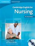 Cambridge English for Nursing Pre-intermediate Student's Boo