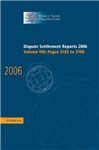 Dispute Settlement Reports 2006: Volume 8, Pages 3185-3788