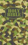 Camouflage Bible Green, NKJV